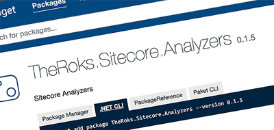 Introducing Roslyn analyzers for Sitecore