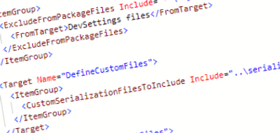 Using the wpp.targets file together with Sitecore